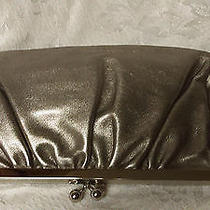 Leather Clutch Bag With Clasp  by Express Gold Leather Photo