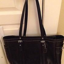 Leather Coach Bag 5128 Black Tote Large Photo