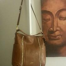 Leather Coach Park Leather Studded Hobo Nwt Photo