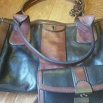 Leather Fossil Bag and Wallet Vintage  Photo