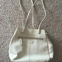 Leather Fossil Purse Off White Very Cute Photo
