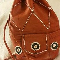Leather  Hobo  Shoulder Bag. Uniquely Vintage Moroccan Leather  Soft Leather Photo