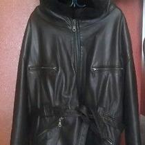 Leather Hoodie Photo