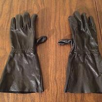 Leather Men Gauntlet Gloves Bike Larp Fantasy Medieval Renaissance Pirate Photo