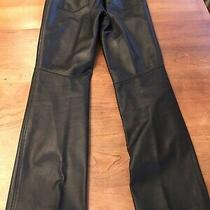 Leather Pants  Elements by Vakko  Size 8 Photo