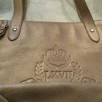 Leather Ralph Lauren Hobo Gold Leather Purse Photo