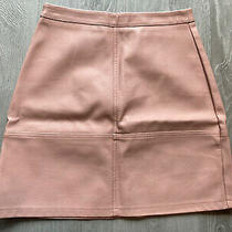 Leather Skirt Size 6 Photo