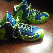 Lebron 11 Custom Made Nike Basketball Shoes Photo