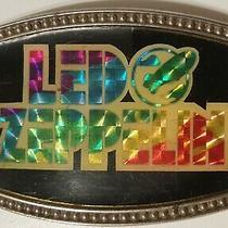 Led Zeppelin Full Color Prism Belt Buckle Super Rare Cpi Brand 1977 Photo