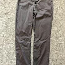 Lee Slim Straight Womens Pants 10 Short Gray Khaki Blush Stretch 5 Pocket Nice Photo