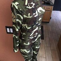 Leg Avenue Commando Military Leggings Costume Camo  Airborne Med Cts Photo