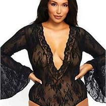 Leg Avenue Sexy Lace Plus Size Lingerie Bodysuit Black Size Plus Size 5dnm Photo
