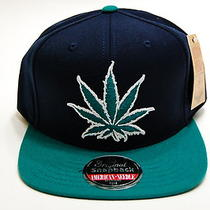 Legalized American Needle Experience Washington Snapback Hat Cap Mens Navy Aqua Photo