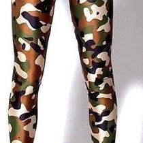 Leggings Camo Commando Leggings Plus Size Xl Extra Large  Photo