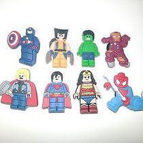 Lego Movie Lego Marvel Minifigures Shoe Charmsdecoration for Crocs Photo