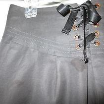 Leifsdottir  Anthropologie Black Skirt-sz.4 Unique Photo