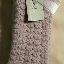 Lemon Cozy and Warm Angora Mukluk Slipper Socks Blush Color One Size  Photo