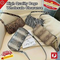 Leopard Pattern Designer Leather Handbags Shoulder Bag Messenger Hobo Tote Purse Photo