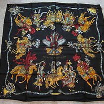 Les Fetes Du Roi Soleil Hermes Scarf  (New-Tags) 100% Silk 90cm Authentic Photo