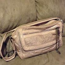 Lesportac Blush Large Antique Quilted Laptop Diaper Bag Photo