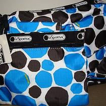 Lesportsac 2 Pc Crossbody Bag Cargo Camera New  Photo