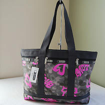 Lesportsac 7005 Medium Travel Tote Modern Love Photo