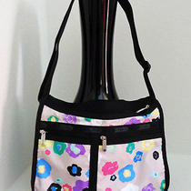 Lesportsac 7507 D386 Deluxe Everyday Bag Purse Shoulder Bag Hobo Tuileries Photo