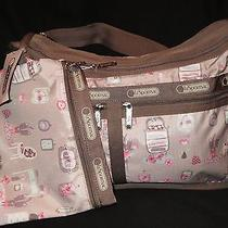 Lesportsac 7507 Deluxe Everyday Bag Powder Room Nwt Photo