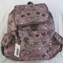 Lesportsac 7839 Voyager Backpack Dolce Vita  Maulticolor Nwt Photo