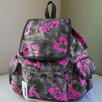 Lesportsac 7839 Voyager Backpack Modern Love Photo