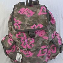 Lesportsac 7839 Voyager Backpack Modern Love Maulticolor Nwt Photo