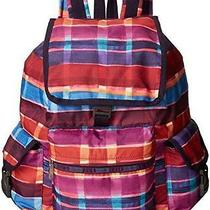 Lesportsac 7839 Voyager Backpack Painte Plaid Nwt Photo