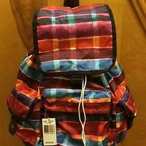 Lesportsac 7839 Voyager Backpack Painted Plaid Nwt Photo
