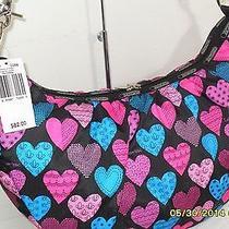 Lesportsac 8057 D256 Veronica Hobo Handbag (Cross My Heart)  Nwt Photo