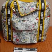 Lesportsac Artist in Residence Women's Tote or Diaper Bag Rare Fifi Lapin  Photo