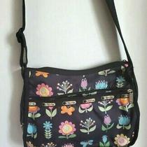 Lesportsac Bag Everyday Handbag Shoulder Crossbody Messenger Floral Flowers Photo