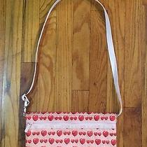 Lesportsac Bag Purse Sequin Heart Print Rare Pop Art Vintage Retro Sac Sport  Photo