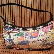 Lesportsac Bag Sequin Game Print Small Handbag Purse Cute Nwot Photo