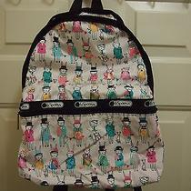 Lesportsac Basic Backpack Limit Edition Light Pink Rabbit  Photo