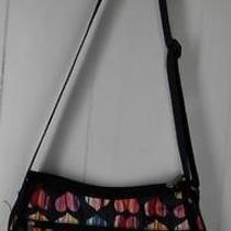 Lesportsac Black Colorful Heart Print Shoulder Strap Purse Bag Handbag Photo