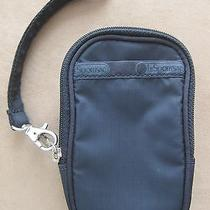 Lesportsac Black Iphone Cover Case Wristlet New Photo