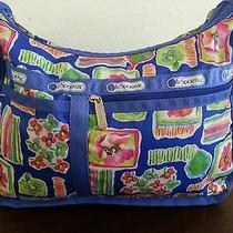 Lesportsac Blue Floral Bag Photo