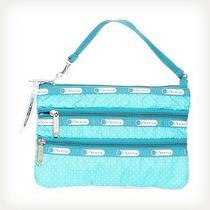 Lesportsac Blue Wristlet Handbag Photo