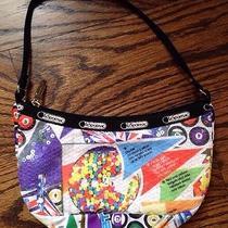 Lesportsac Chance Sequin Game Print Handbag Nwot Photo