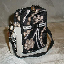 Lesportsac Charleston Paula Phone Camera Wallet Small Carryall Case 7907 Nwt Photo
