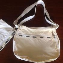 Lesportsac Classic Original Hobo - White Nwot - Made in Usa Photo
