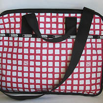 Lesportsac Computer Laptop School Briefcase Technofile Handbag Size L Photo