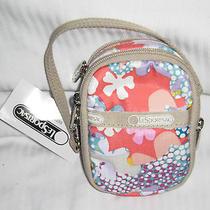 Lesportsac Confetti Paula Phone Camera Wallet Small Carryall Case 7907 Nwt Photo