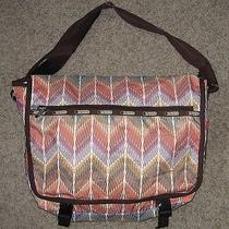 Lesportsac Courier Crosstown Messenger Bag 7838 Photo