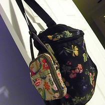 Lesportsac Crossbody Messenger Bag & Cell Phone Wristlet Lot Floral Photo